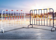 Galvanized Interlocking Steel Barricades Universal Durable Weather Resistant Barrier