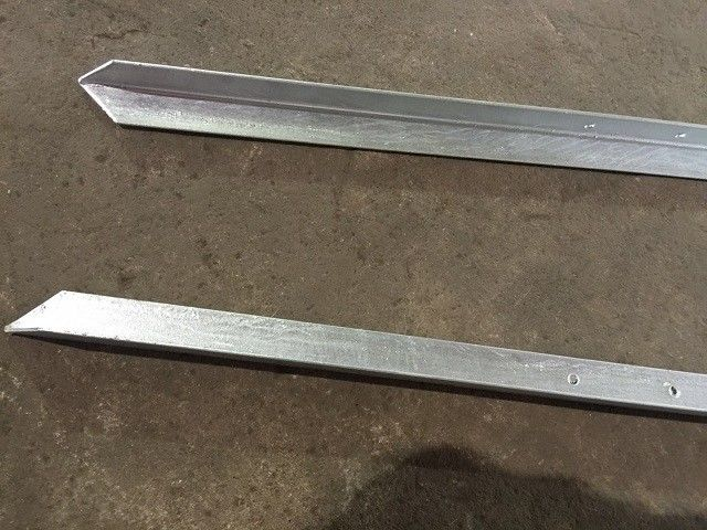 Australian Farm Metal Fence Accessories / Steel Fence Posts Ground Post