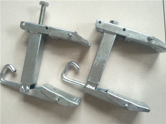 Hot Dip Galvanized Steel Wire Clamp / Cable Clamp With Custom Various Size