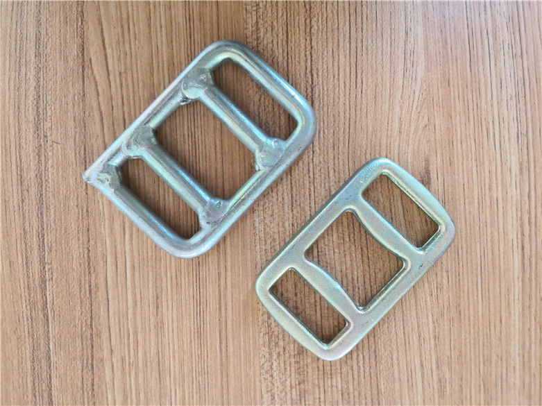 Welding Rigging Hardware / Metal Accessories Zinc Coating Surface For Belt Ring