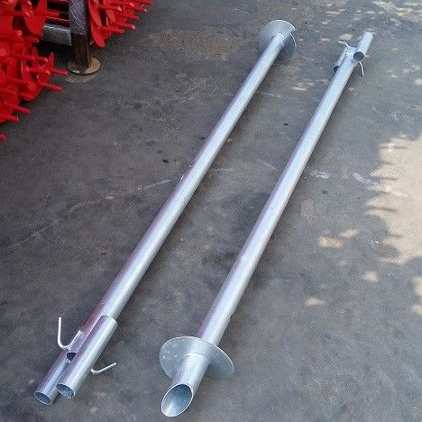 2000mm Galvanized Grounding And Earthing Products Ground Anchor Pipe