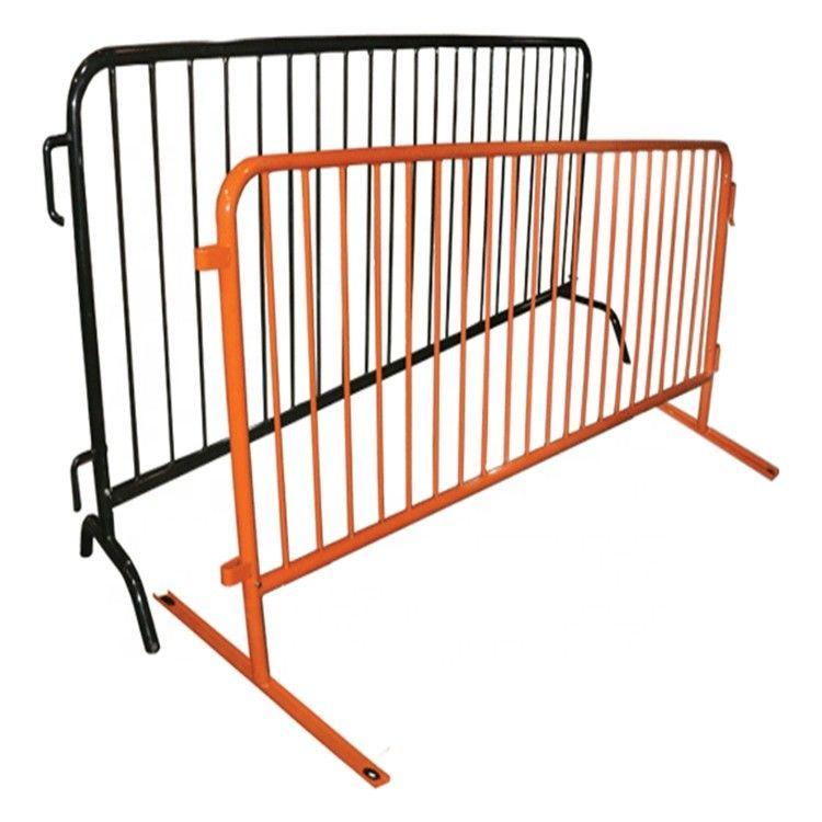 Easy Installation Metal Fence Accessories Temporary Construction Guardrails